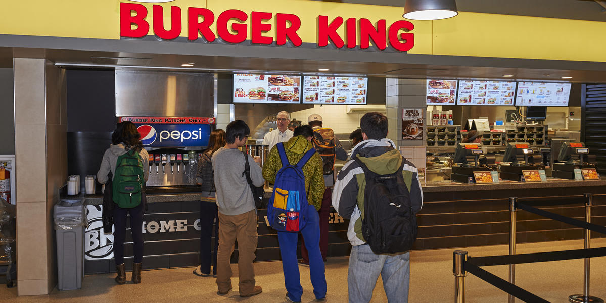 Burger King in the HUB