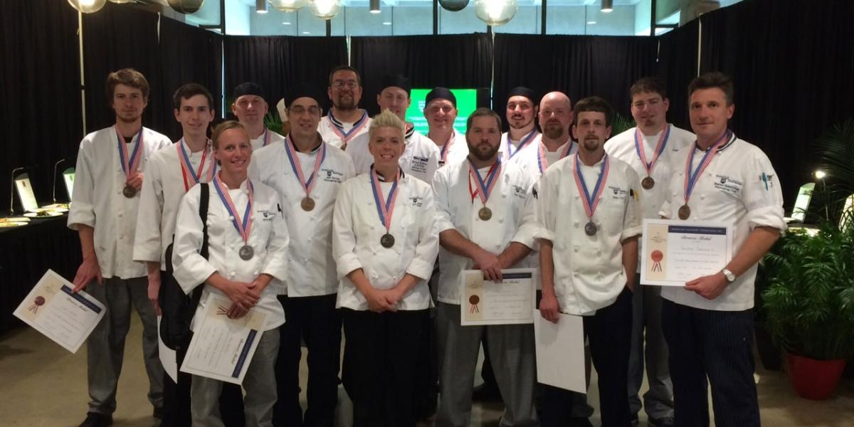 Culinary Challenge participants