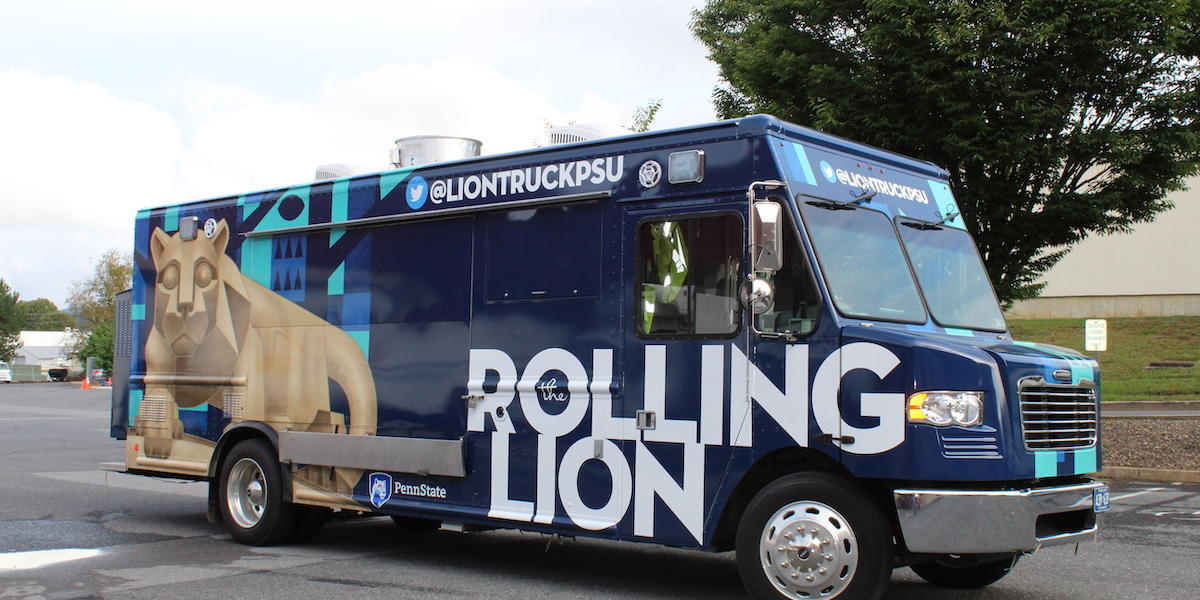 The Rolling Lion Food Truck