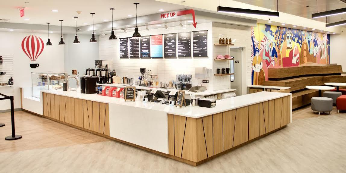 Saxbys in Smeal Business Building